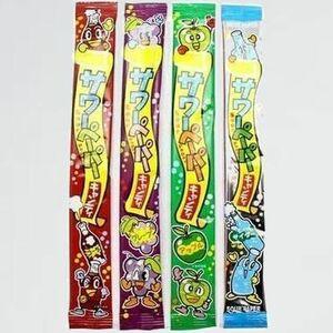 新品 目玉 サワ-ペ-パ- やおきん T-4K ・ サイダ-) キャンディ いろいろ味セット 全4種×8個 計32個 (グレ-プ ・ コ-ラ ・ アップル