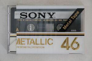 Blank Cassette カセットテープ Metal Position Type4 METALLIC46 SONY /00110