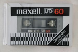 Blank Cassette カセットテープ Normal Position Type1 UD60 MAXELL /00110