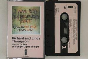 英Cassette Richard & Linda Thompson I Want To See The Bright Lights Tonight ZCI9266 ISLAND /00110の商品画像