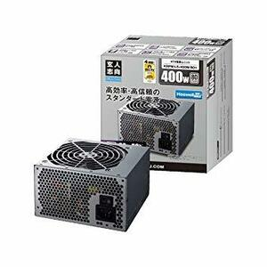 400W 玄人志向 STANDARDシリーズ 80 PLUS 400W ATX電源 KRPW-L5-400W/80+