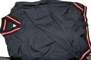 モンクレール MONCLER ナイロン メンズ ジャンパー ブルゾン スタジャン ジャケット (ネイビー) サイズ3 美品!