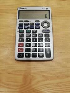 CASIO 金融電卓 BF-850 10年利用品、状態悪