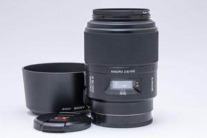 SONY 100mm F2.8 Macro (SAL100M28) ソニー