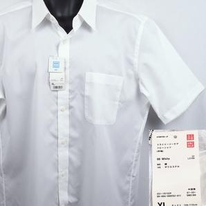 《郵送無料》■Ijinko◆新品☆Uniqloユニクロドライレギュラーカット イージーケアドビー XL サイズ半袖シャツ