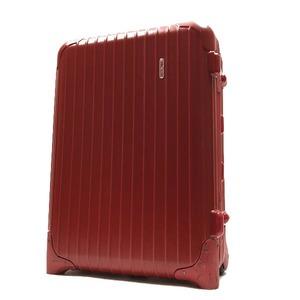 ○美品 リモワ RIMOWA 「85552」 サルサ 33L 2輪 キャリーケース スーツケース バッグ 赤 I14-021