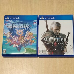 【PS4】 聖剣伝説3 ウィッチャー3