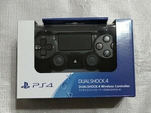 美品 ☆ DUALSHOCK4 デュアルショック4 ワイヤレスコントローラー ジェット・ブラック PS4