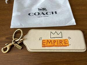 COACH × BASQUIAT キーホルダー EMPIRE クラウン ブティック品 コーチ バスキア コラボ バッグ チャーム