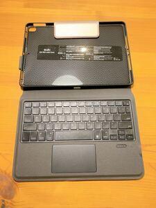 iPad 10.2インチ/10.5インチ キーボード付きカバー ピンク