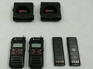 【動作確認済み】MOTOROLA デジタル簡易業務用無線機 MiT7000 2台セット 即日発送 一週間返品保証【H21091720】