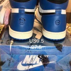 Air Jordan 1 High Mens OG SP Fragment design x Travis Scott(US9.5,27.5cm)