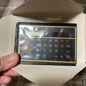 ソーラー式 カード電卓