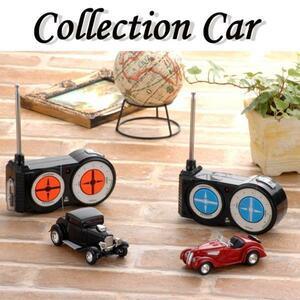 【 ジャンク品 】光る ラジコン ミニカー 自動車 乗用車 クラシックカー コレクション LED 車 おもちゃ 玩具 子供 レッド M5-MGKMY1672RE