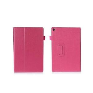送料無料 Xperia Z2 Tablet SO-05F/SOT21 レザー 保護ケース ピンク