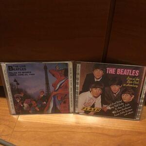 CD★THE BEATLES/ライブ・ブートレッグ2枚★ビートルズ