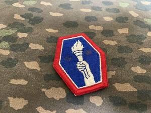 アメリカ軍 アメリカ陸軍 陸軍航空隊 二世部隊 CBI WWII 複数出品 部隊パッチ 階級章 所属章 師団パッチ レプリカ 中古品 N
