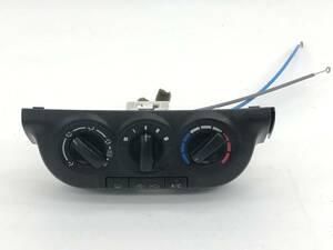 _b72932 スズキ セルボ GリミテッドⅡ DBA-HG21S エアコンスイッチ パネル トリム カバー 内装 ワイヤー付き C05