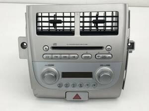 _b72932 スズキ セルボ GリミテッドⅡ DBA-HG21S純正 オーディオ デッキ AM FM ラジオ CD エアコン吹出口 39101-66K00-GPT