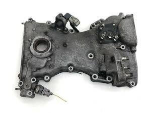 _b72932 スズキ セルボ GリミテッドⅡ DBA-HG21S エンジン フロントカバー プーリー タイミング チェーン K6A