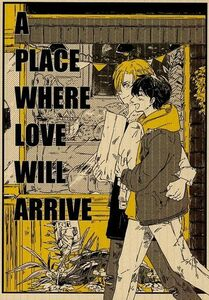 BANANA FISH同人誌「A PLACE WHERE LOVE WILL ARRIVE」《アッシュ×英二》
