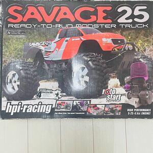 hpi savage 25(エイチピーアイ サベージ 25)未使用 エンジンRCカー