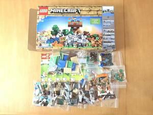 送料込み LEGO レゴ マインクラフト 21135 中古