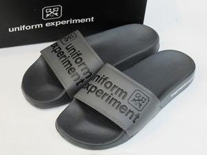 F478 未使用 フラグメント fragment design シャワースライド サンダル 靴 26.5cm 軽量 クッション グレー 藤原ヒロシ デザイン