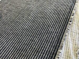 布地専門店 kijiya 2mカット 綿麻 デニム 風 ブラック系 グレー 厚手 コットン リネン 布 生地 カットクロス