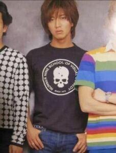 キムタク着 NUMBER (N)INE ナンバーナイン Tシャツ サイズ2