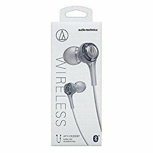 [送料\220]audio-technica オーディオテクニカ ワイヤレスイヤホン Bluetooth対応(ホワイト)ATH-CK200BT