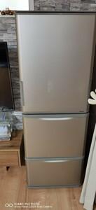 SHARP 冷凍冷蔵庫 両開き ドア シャープ 350L