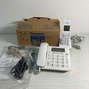 Panasonic コードレス電話機 親機 VE-GD25-W 子機 KX-FKD404-W 1つ パナソニック
