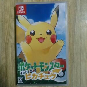 ポケットモンスターレッツゴーピカチュウ  Nintendo Switch  ニンテンドースイッチ  Let''s Go ポケモン