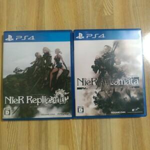 PS4 ニーアオートマタ ニーアレプリカント スクウェアエニックス  PS4ソフト