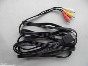 プレイステーション PlayStation HORI RCA赤白黄 ケーブル 長さ約3m 7-24-5