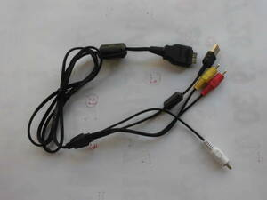 SONY ソニー CYBER-SHOT マルチ専用(SONY USB.AVケーブル type2)7-24-3