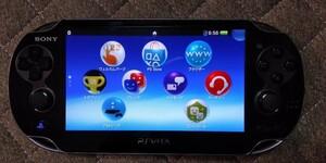 PS Vita1000 ソフト3本おまけ