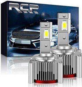 ■残1■ ホワイト D1S/D1R RCP D1S/D1R汎用 LEDヘッドライト 純正HIDをLED化へ交換 車検対応 大光量 高輝度