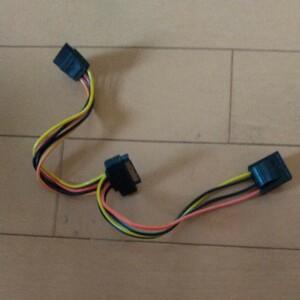 4ピン→SATA 変換ケーブル 30cm 電源ケーブル