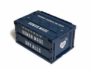 【新品】HUMAN MADE CONTAINER 74L NAVY NIGO ヒューマンメイド 折りたたみ コンテナ ネイビー humanmade