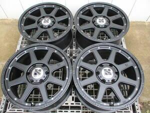 エクストリームJ XJ マット ブラック 18インチ 6穴 139.7 8J 25 プラド FJクルーザー ハイラックス 4wd オフロード サーフ リフトアップ
