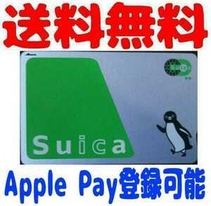 JR東日本 Suica スイカ 無記名 残高なし デポジットのみ Apple Pay 登録可能 Suicaカテゴリー