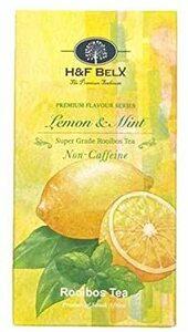 H&F BELX プレミアム フレーバーティー ノンカフェイン 2.5g × 20包 (レモンミント)
