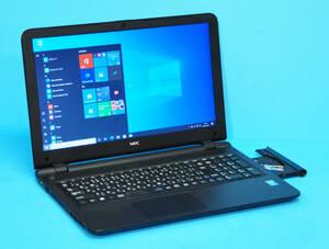 ♪ 良品 NEC VJ17EF-N ♪ Celeron 3215U / メモリ8GB / HDD:500GB / マルチ / カメラ / Wlan / テンキー/ Office2019/ Win10