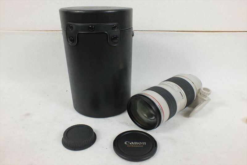 ★ Canon キャノン EF 70-200mm 2.8L レンズ ソフトケース付き AF動作OK 中古 現狀品 210901N3132