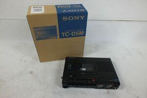 ★ SONY ソニー TC-D5M デンスケ CASSETTE-CORDER 元箱付き 現状品 中古 210901A4048