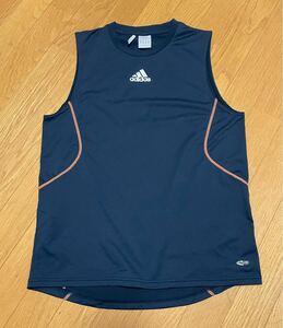 アディダス ノースリーブシャツ Oサイズ USED adidas CLIMACOOL