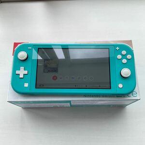 任天堂 switch lite ターコイズ