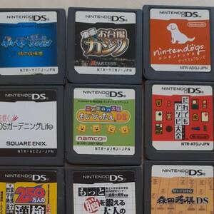 DSソフト 任天堂 Nintendo マリオパーティ マリオカート どうぶつの森 希望のソフトまずコメントください